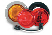 Truck-lite 10 series 2.5 in round clearance lamps