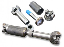 A simple drive shaft and components